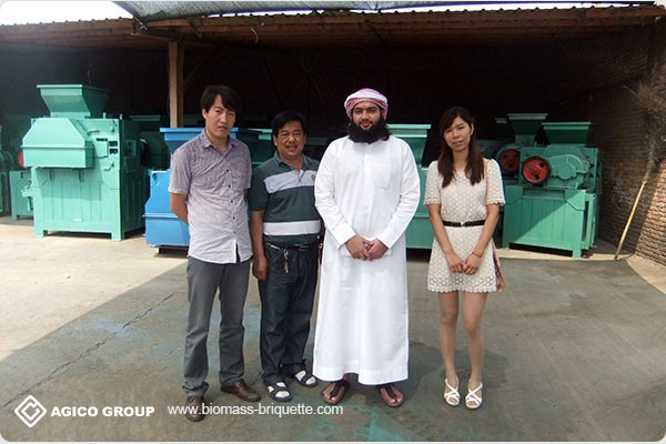 Briquetting Machine Customer Visits
