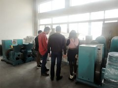 Customers from Greece Came Visiting Our Factory
