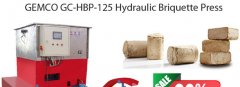 Hydraulic Biomass Briquette Machine ON SALES